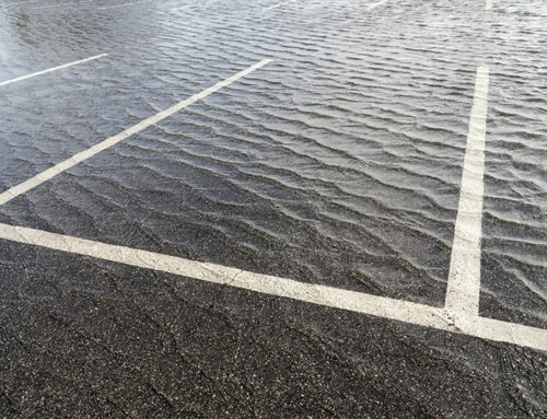Is Your Parking Lot Drainage System Working Properly?